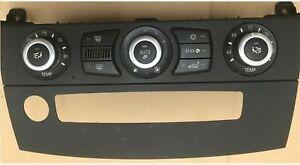 2008-2010 BMW 528I 535I 550I E60 climate control unit A/C Heater OEM 9177715-02