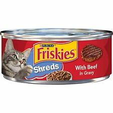 Purina Friskies Gravy Wet Cat Food Shreds With Beef in Gravy - 5.5 oz. Cans P...
