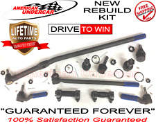 LIFETIME Ball Joint Tie Rod Drag Link Kit for FORD F250HD 4x4 1995 1996