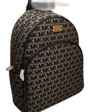 Michael Kors BRAND NEW Abbey Signature Large Jacquard Backpack