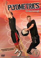Plyometrics Training DVD - Get Faster More Powerful For Any Sport! Free Shipping