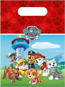 PAW PATROL - LOOT PARTY BAGS  - Various amounts -for boys & girls toys & favours