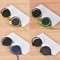 3.5mm earhook ear hanging type earphone super bass headset headphone with mic HU
