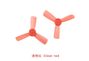10 Pairs 1935 Clear Propeller 2 Inch CW CCW 3-Blade Props for RC Q90 90GT Drone