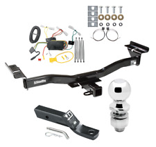 "Trailer Tow Hitch For 07-12 Mazda CX-7 Complete Package w/ Wiring and 2"" Ball"
