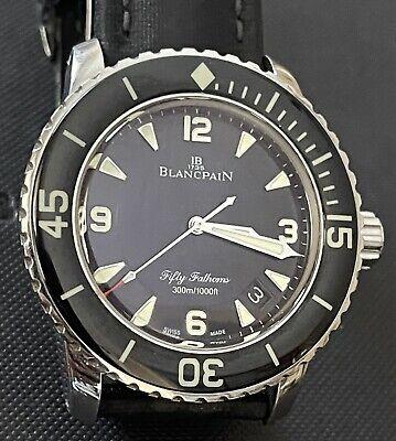 Blancpain Fifty Fathoms 5015-1130-52A Diver Automatic Box Orologio Automatico