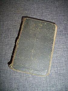 Antique 19th Century Oxford Book of Common Prayer - Psalter & Psalms of David