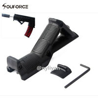 Angled Front Foregrip Hand Guard for Picatinny Rail Mount 20mm Rifle Hunting BK