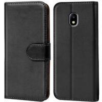 Case Cover Samsung Galaxy J7 2017 J730 Magnetic Flip PU Leather Wallet Holder