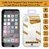 2 x Genuine Tempered Glass Film Screen Protector For Apple iPhone 6S Plus 6 Plus