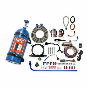 NOS 02126NOS Plate Wet Nitrous System, For 2015-2017 Ford Mustang 5.0L V8 NEW
