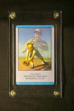*** RARE 1952 Lou Gehrig Playing Card Old New York Yankees Baseball Scranton Sox