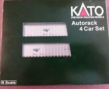 N Scale - Kato - Amtrak Autorack 4 car set #106-5501