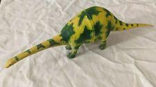 Vintage Larami Dinosaur Plastic 15� Apatosaurus Yellow Green Figure