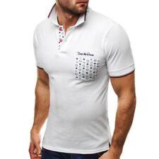 Camisas y polos de hombre de manga corta blanco talla L