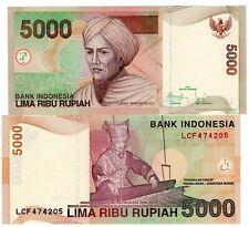 Indonesie INDONESIA Billet 5000 RUPIAH 2009 P142 TUNAKU IMAM BONDJOLI NEUF UNC