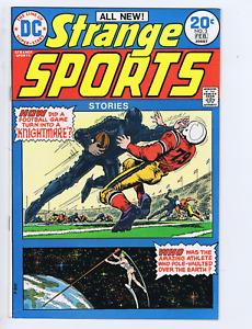 Strange Sports Stories #3  DC Pub 1974