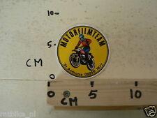 STICKER,DECAL MOTORFILMTEAM ST.ANTHONIS MOTOCROSS MX
