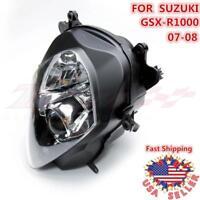 New Headlight Head Light Lamp Assembly For SUZUKI GSX-R1000 2007 2008 GSXR1000