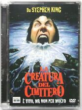 Dvd The Creature the cemetery - Super Jewel box 1990 Used