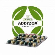 BUY 3 GET 4  Charak Addyzoa Herbal Capsules 20Cap Improves sexual desire Orignal