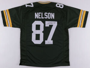 Jordy Nelson Green Bay Packers Signed Jersey / Super Bowl XLV Champion Receiver