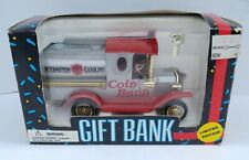 Internation Gasoline Tanker Truck Coin Bank 1993 Diecast Metal Locking #32403