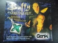 Buffy the Vampire Prop Replica anyankas Power centrado Amuleto Y Collar en Caja