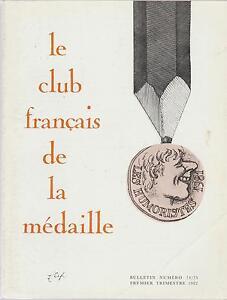 revue le club-français de la médaille, n°74-75 (1er trimestre 1982)