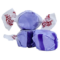 GOURMET GRAPE Salt Water Taffy Candy TAFFY TOWN 1/4 LB  to 10 LB BAG SHIPS FREE