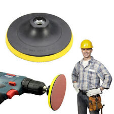 """125 mm 5"""" SANDING DISCS Backing Pad for DRILL ADAPTOR POLISHING Attachment Tool"""