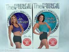 The Firm Workout Cardio Abs Exercise VHS Tapes Fitness Body Sculpting New Sealed
