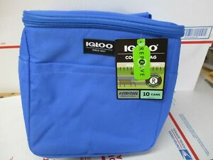 IGLOO ECHO LUNCH REPREVE ROYAL BLUE COOLER BAG NEW FAST / FREE SHIPPING