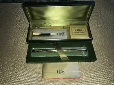 More details for cross rolled gold 1/20 10kt fountain pen + 14kt gold nib (boxed) + 6pk refills
