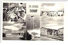AK, Lindhöft über Kiel, JRK Zeltlager Lindhöft, fünf Abb. 1960