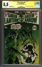 * GREEN Lantern #76 CGC 5.5 Signed & Sketch Neal Adams! CLASSIC! (1957678017) *