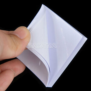 Sale! Dental Cavity Liners Disposable Mixing 2X2 Inch 5.1 x 5.1cm 50 Sheets/Pad