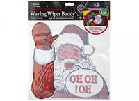 Santa Waving Car Sticker Windscreen Wiper Blade Christmas Xmas Novelty Decor