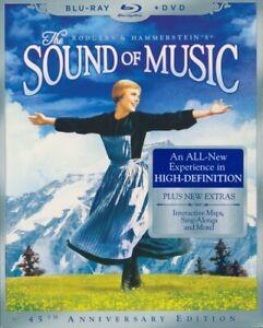 THE SOUND OF MUSIC 45th Anniv NEW SEALED RegA 3-Disc WS BluRay w/SLEEVE FreeShip