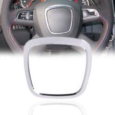 Car Steering Wheel Decor Sticker Frame Cover Sticker Fit For Audi A4 A5 Q5 A6 Q7