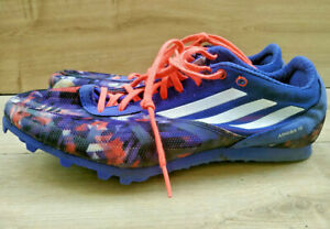 Mens adidas ARRIBA 4 Running Spikes Shoes Lightweight Breathable Mesh Size 9.5