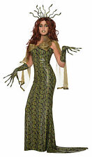 Deluxe Medusa Halloween Fancy Dress Outfit Costume Size 10-14
