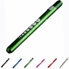 MINI Medical First Aid LED Pen Light Flashlight Torch Doctor Nurse EMT Emergency
