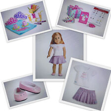 AMERICAN GIRL HAPPY BIRTHDAY OUTFIT & SET WITH ACCESSORIES - ALL 3 NEW IN BOXES