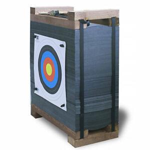 Yate Targets Bogenschießen Zielscheibe Packband 60x60x30cm bis 80lbs Armbrust