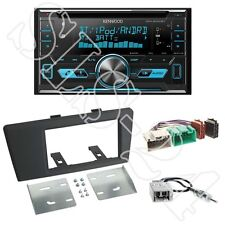 Kenwood DPX5000BT Autoradio + Volvo S60/V70 2-DIN Radioblende black +ISO Adapter