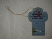 1953 Yankee Stadium World Series Field Privileges Pass PAN AM