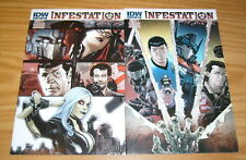 Infestation #1-2 Vf/Nm complete series Star Trek ghostbusters Transformers joe A