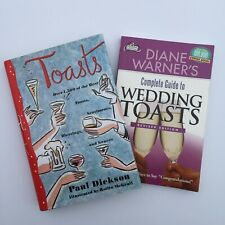 Wedding Book Lot - Complete Guide to Wedding Toasts / Toasts by Paul Dickson
