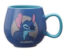 "DISNEY STORE 12 oz COFFEE LILO & ""STITCH"" MORNING MUG CUP AUTHENTIC NEW USA GIFT"